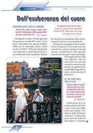 Dall'esuberanza del cuore - Padre Mariano da Torino