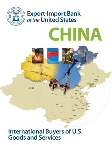 China brochure - International Buyers of U.S. Goods and Services