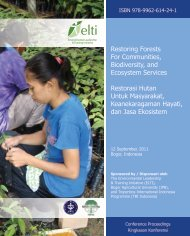 Restoring Forests For Communities, Biodiversity, and Ecosystem ...