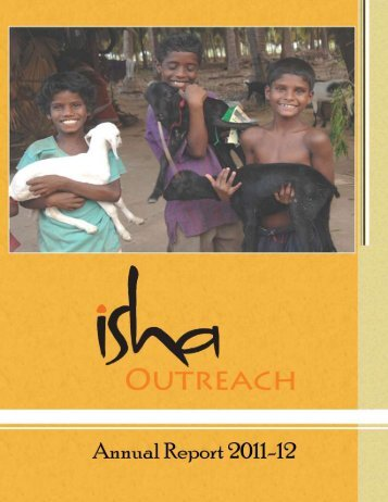 sapling distribution - 2011-2012 - Isha Outreach
