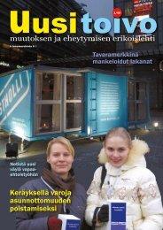 Uusi toivo 1/2009 - Sininauhaliitto