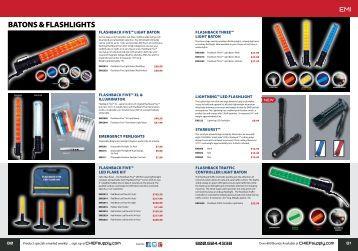 BATONS & FLASHLIGHTS - Chief Supply