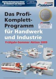 Das Profi- Komplett- Programm für Handwerk und Industrie