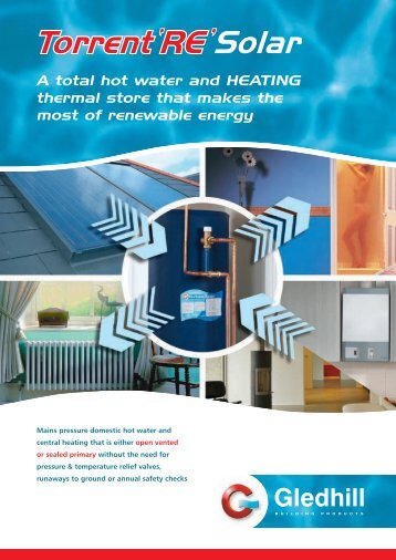 2160-04 Torrent Brochure - Gas Appliance Guide