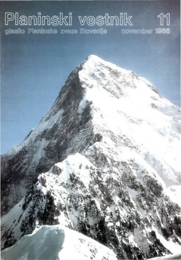 November - Planinski Vestnik