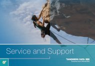 Service and Support - Tandberg Data
