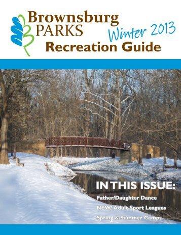 Recreation Guide - Brownsburg Community School Corporation