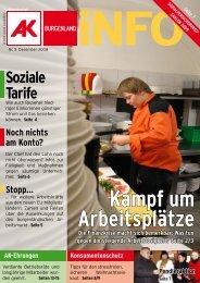 Kampf um Arbeitsplätze - Arbeiterkammer Wien