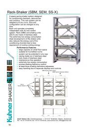 Rack-shaker for environmental rooms - CapellaScience