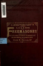 sJBRIEF* HISTORY^ - Grand Lodge of Colorado