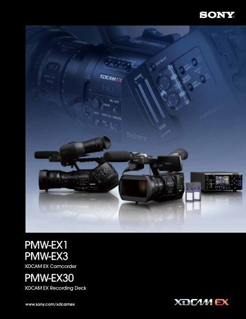 to view the XDCAM Brochure