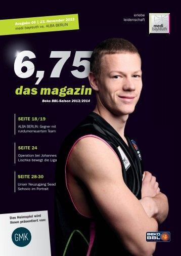 das magazin - BBC Bayreuth