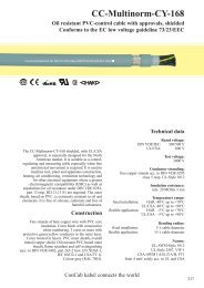 CC-Multinorm-CY-168 - ConCab kabel gmbh