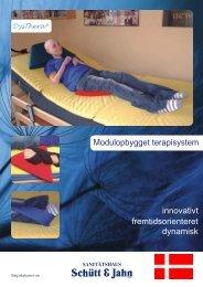 fremtidsorienteret innovativt dynamisk Modulopbygget terapisystem