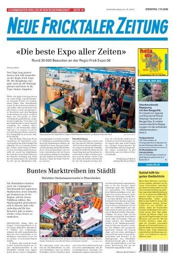 Berichte der Neuen Fricktaler Zeitung - beim GEWERBE REGION ...