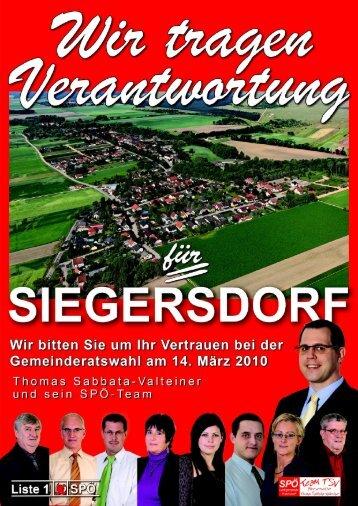 Sozialdemokratische Perspektive Nr. 4c/10 - Pottendorf - SPÖ