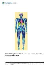 Weiterbildungskonzept Gefäßchirurgie - Klinikfinder.de