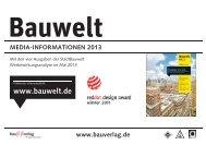 Bauwelt - Bauverlag