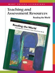 Teaching and Assessment Resources - Perfection Learning