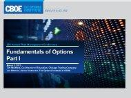 Why Options? - CBOE.com