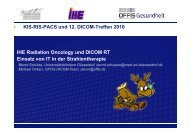 IHE Radiation Oncology und DICOM RT - WCR-News