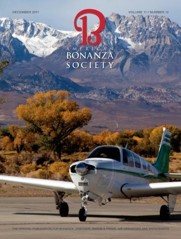 december 2011 volume 11 • number 12 - American Bonanza Society