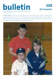Bulletin/43/Summer 2002 - Organ Donation