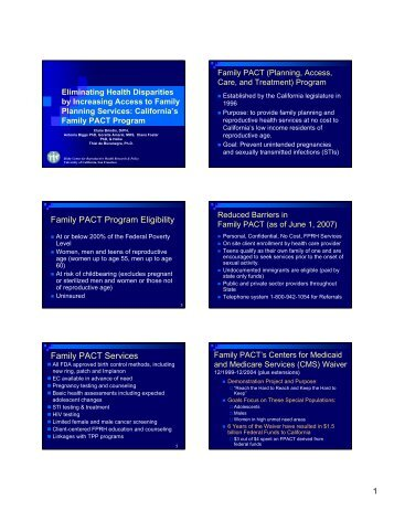 PDF Handout of Slides - AcademyHealth