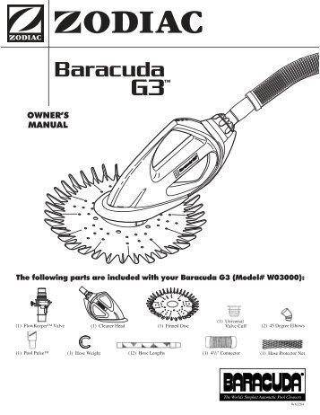 Zodiac Baracuda Classic Manual