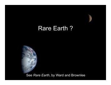 Rare Earth ?