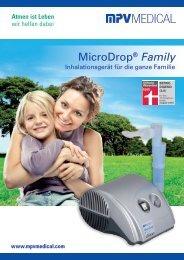 MicroDrop® Family - MPV MEDICAL GmbH