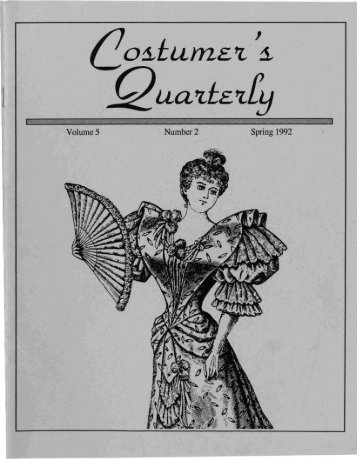 Vol 5 No 2 - International Costumers' Guild, Inc.
