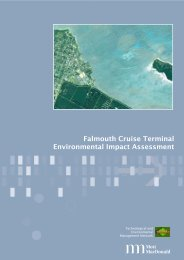 Falmouth Cruise Terminal Environmental Impact Assessment