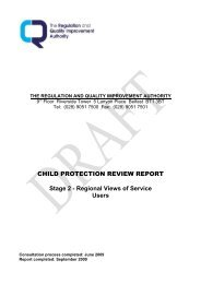 9. RQIA Child Protection Review Report 2 - Southern Health and ...