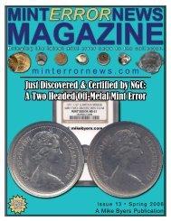 Issue 13 - Mint Error News Magazine
