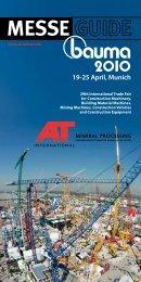 MESSE 9-25 April, Munich - Mineral Processing