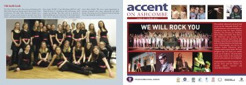 Accent 32 - Ashcombe School