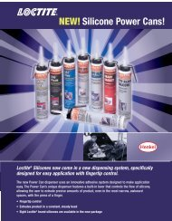 NEW! Silicone Power Cans! - Loctite.ph