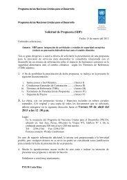 Solicitud de Propuesta - Instituto Meteorológico Nacional