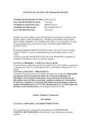 CONVENÇÃO COLETIVA DE TRABALHO 2012/2012 ... - Sindpd