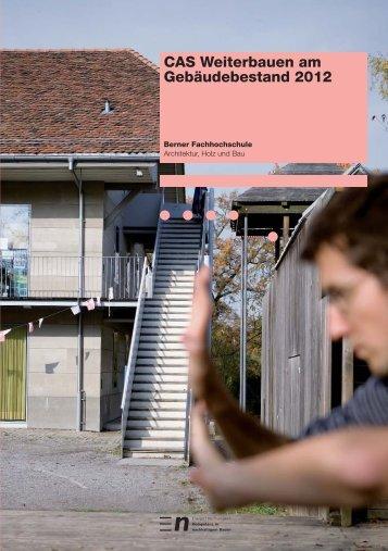 Studienprogramm (PDF) - Hochschule für Architektur, Holz und Bau ...