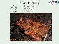 Hlab meeting