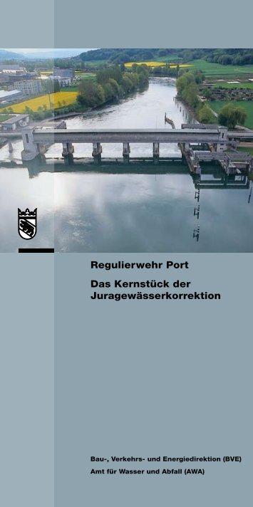 Regulierwehr Port - Bau-, Verkehrs