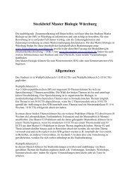 Informationen zur Bewerbung und Kurzinfos zum Masterstudium