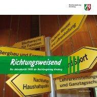 Richtungsweisend - Bezirksregierung Arnsberg