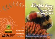 Bumble Bees of the Western United States - USDA Forest Service