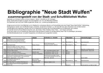 Neue Stadt Wulfen - Dorsten-Wulfen