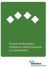 Turisme de Barcelona: A business making headway on sustainability