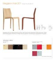 laleggera chair 301 - Archetypen