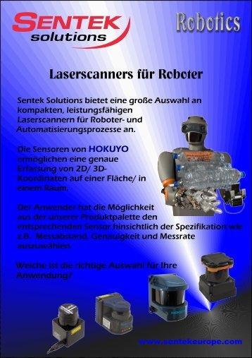 Laserscanners für Roboter - Sentek Solutions